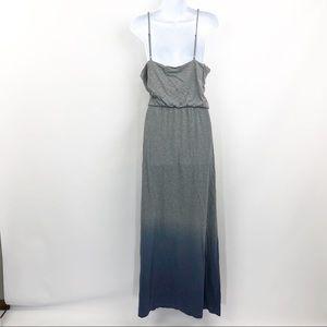 GAP Dresses - NWT GAP Maxi Dress Gray Blue Ombre